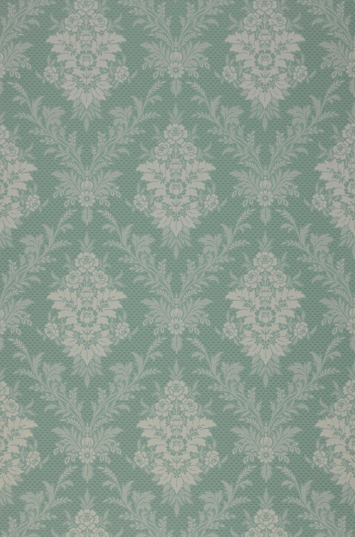 Wallpaper Ikena Mint Green Dark Green Pebble Grey Wallpaper