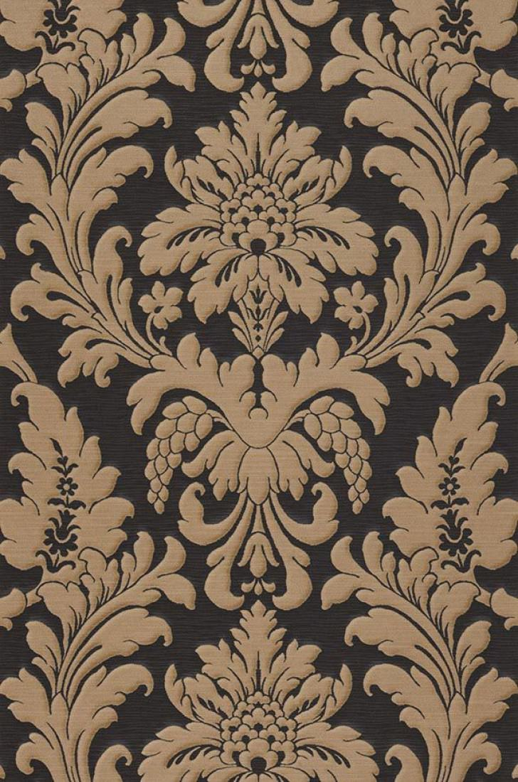 tapete marunda schwarzgrau graubeige tapeten der 70er. Black Bedroom Furniture Sets. Home Design Ideas