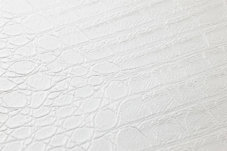 Papel pintado gavial blanco papeles de los 70 - Papeles pintados de los 70 ...
