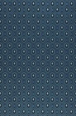 Tapete Arkadias Perlblau A4-Ausschnitt