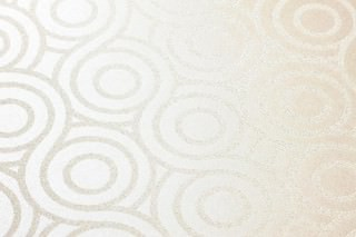 Wallpaper Silvanus Shimmering Circular pattern Mother of pearl shimmer Cream shimmer
