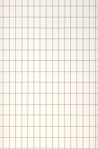 Wallpaper Grid Matt Grid Rectangles White Black