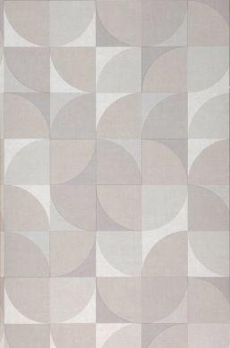 Wallpaper Junimo beige grey Roll Width
