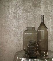 Wallpaper Natural Cork 02 Shimmering Solid colour Silver