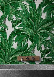 Papel pintado Eden tonos de verde