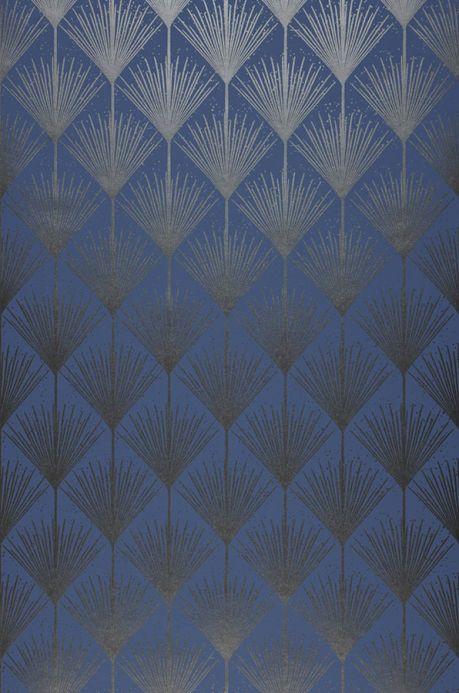 Archiv Wallpaper Mayfair blue Roll Width