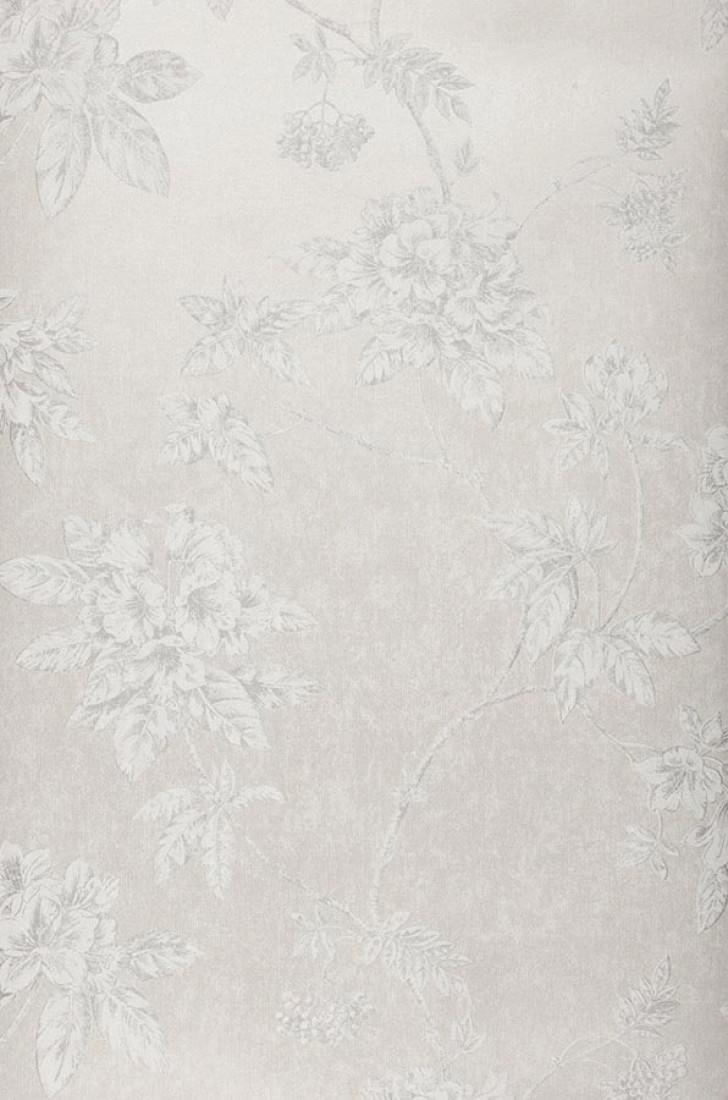 Papel pintado tacita gris claro gris plateado brillante - Papel pintado plateado ...