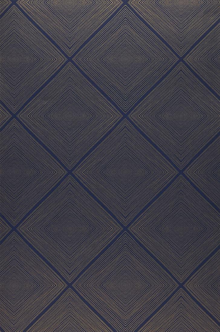 papier peint rigo bleu saphir dor papier peint des. Black Bedroom Furniture Sets. Home Design Ideas