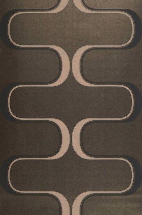 Archiv Wallpaper Dusares grey brown Roll Width