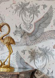Wallpaper Lynx white