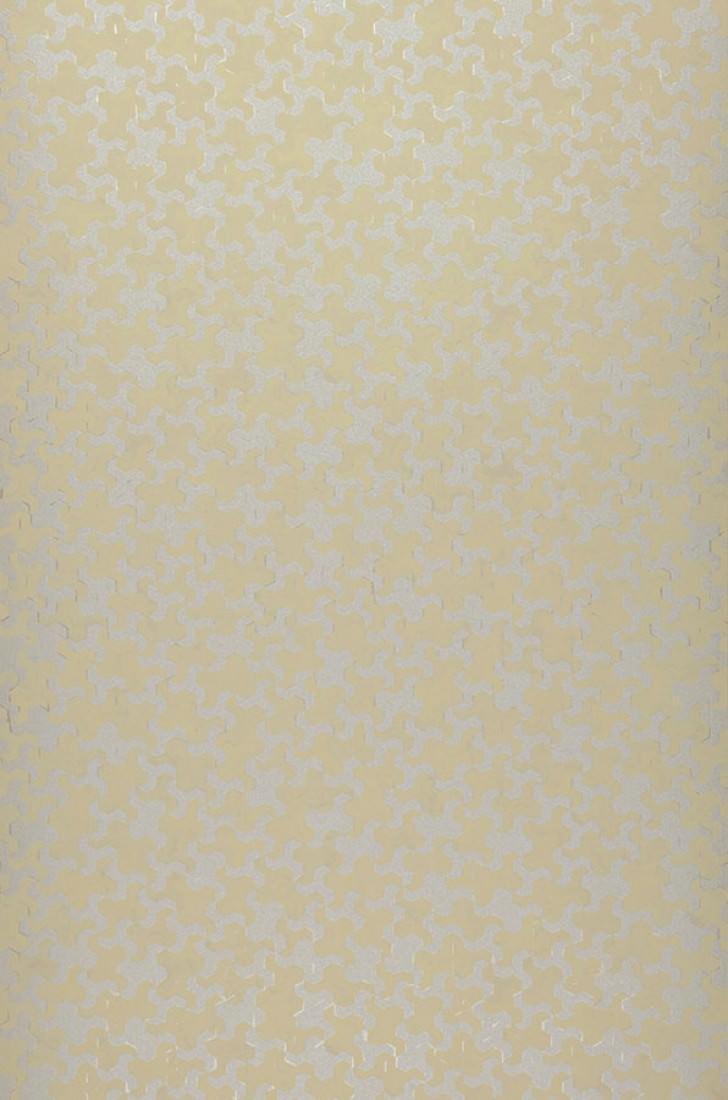 Papel pintado skylar beige verdoso plata papeles de - Papeles pintados de los 70 ...