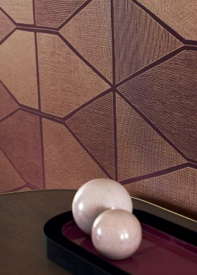 Papel de parede Enzo violeta Ver quarto