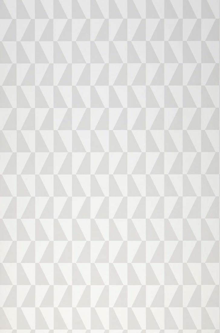 Papel pintado balder blanco gris claro papeles de los 70 - Papel pintado de los 70 ...