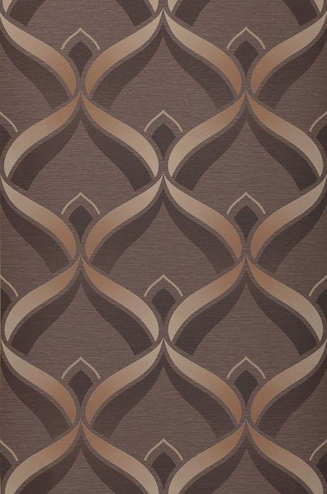 Archiv Papel pintado Angus marrón grisáceo Ancho rollo