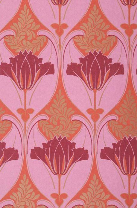 Archiv Papel pintado Lucina rosa Ancho rollo