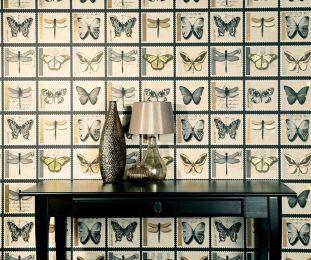 Wallpaper Anissa grey