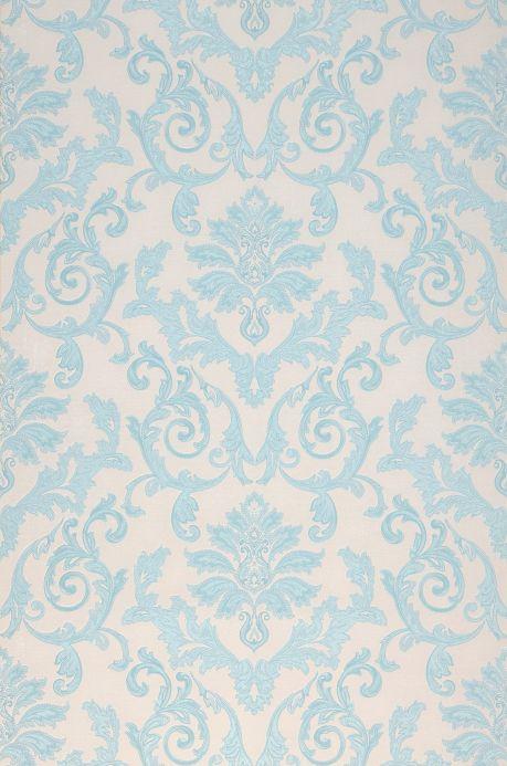 Archiv Papier peint Obadia bleu clair Largeur de lé