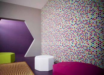 Papel de parede Hypnos multicolorido