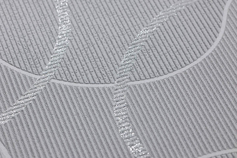Melville tonos de gris gris claro plata brillantina - Papeles pintados de los 70 ...