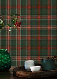 Wallpaper Madita fir tree green
