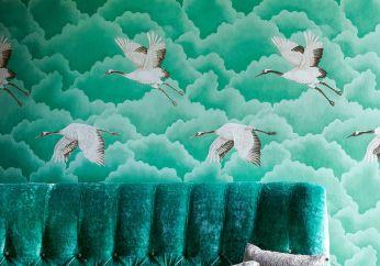 Papel de parede Inola verde