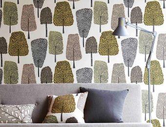 Wallpaper Davila yellow
