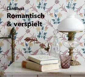 Landhaus Tapeten Für Die Pure Landlust Im Tapetenshop Online Bestellen Schlafzimmer Landhausstil Tapeten