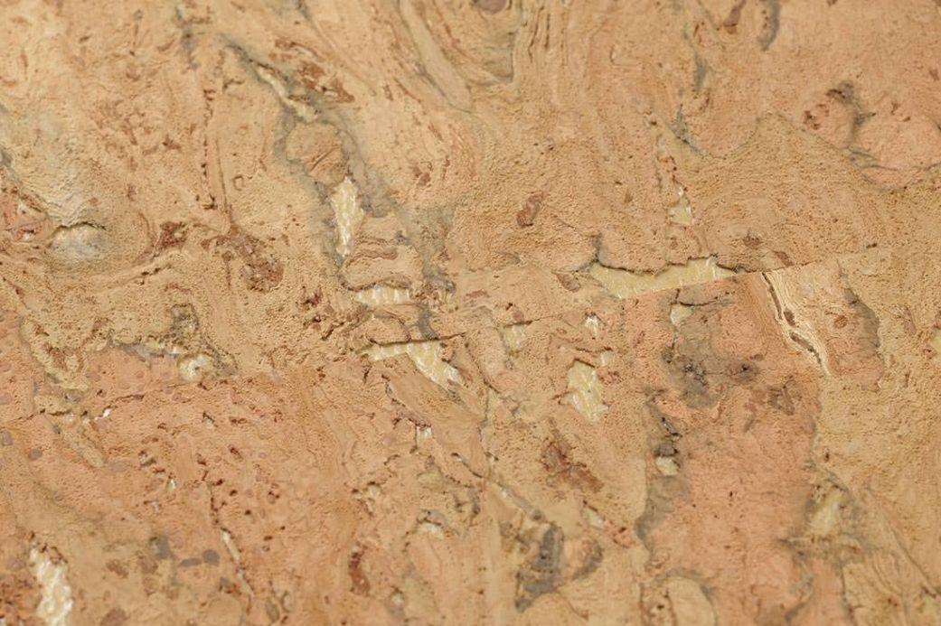 Archiv Wallpaper Natural Cork 01 beige Detail View