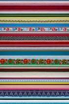 Wallpaper Ribbon Matt Ribbons Blue Yellow Green Red