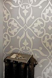 Papel de parede Boreas cinza claro