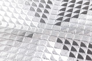 Wallpaper Lostar Shimmering Triangles Squares Silver
