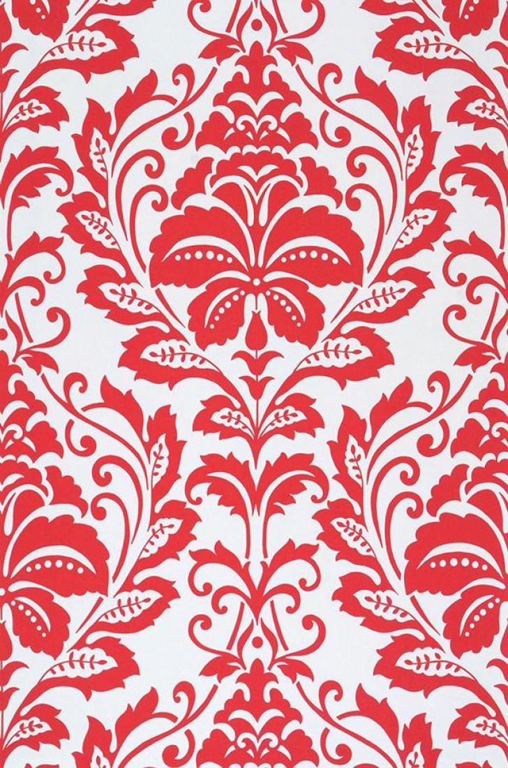 Papel pintado jumah blanco ostra rojo papeles de los 70 - Papeles pintados de los 70 ...