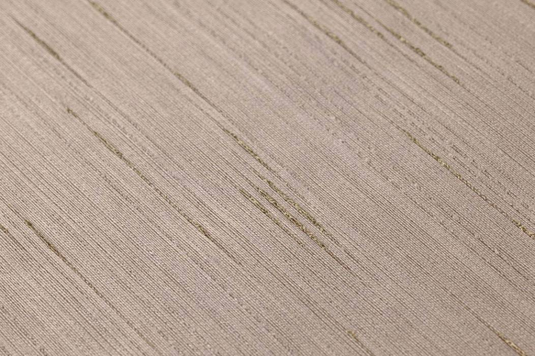 Wallpaper Warp Glamour 04 Shimmering Solid colour Grey brown