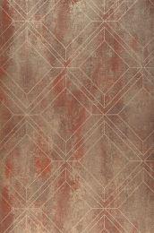 Wallpaper Malekid copper brown
