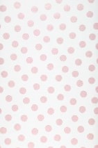Wallpaper Corbetta Shimmering pattern Matt base surface Dots Cream Light pink glitter
