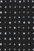 Wallpaper Wukata Matt Dots Black Grey beige Silver grey White