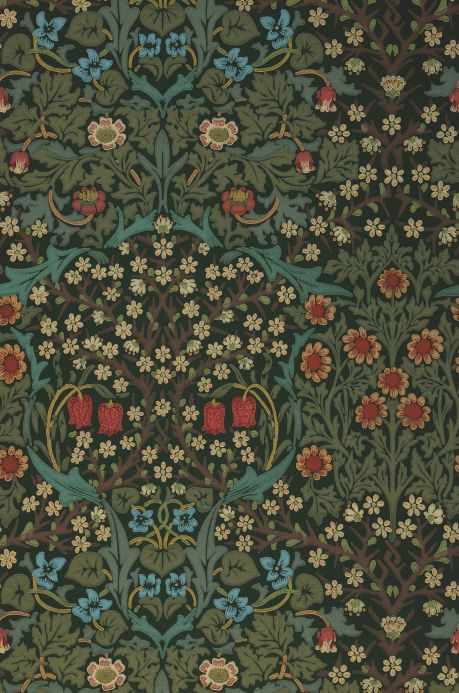 Versace Wallpaper Wallpaper Sharon shades of green Roll Width