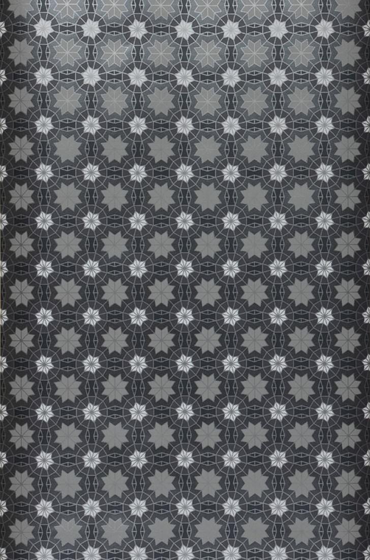 Papier peint Erebos (Noir, Anthracite, Anthracite brillant, Blanc ...