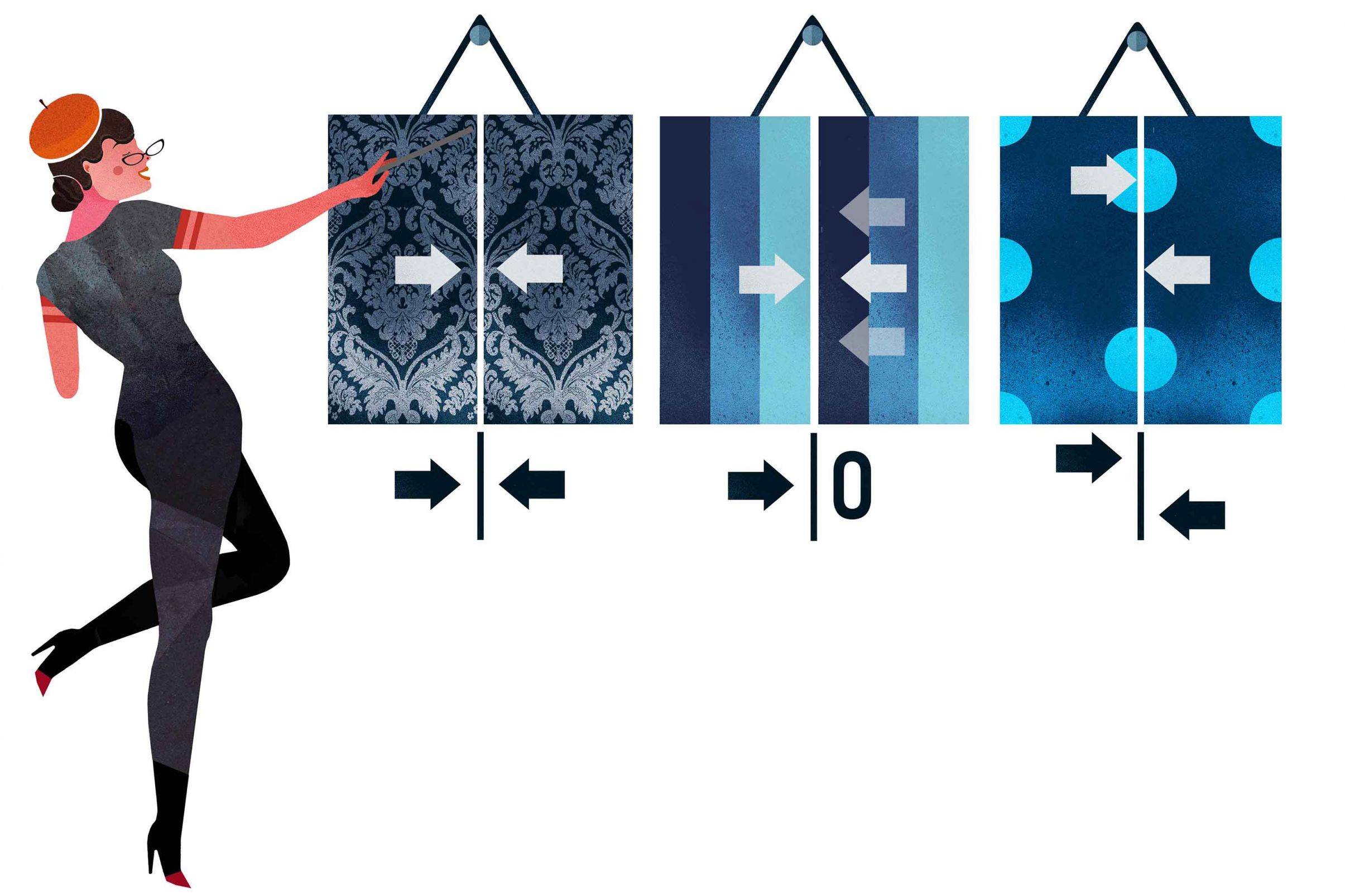 Como-cortar-el-papel-pintado-correctamente-Recordar-el-patron-de-repeticion-para-tiras-adicionales