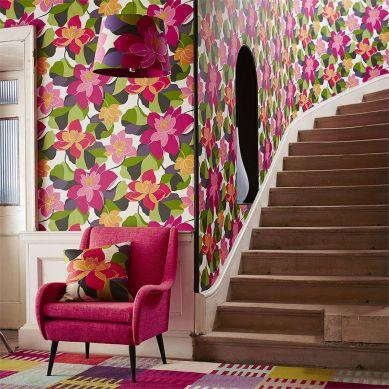 Papel pintado Adarna violeta érica Ver habitación