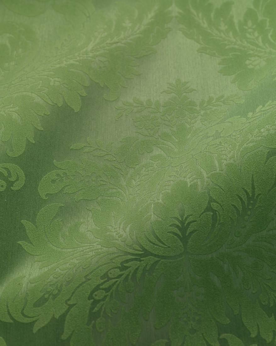 Papel pintado odilia verde guisante verde pastel - Papel pintado de los 70 ...