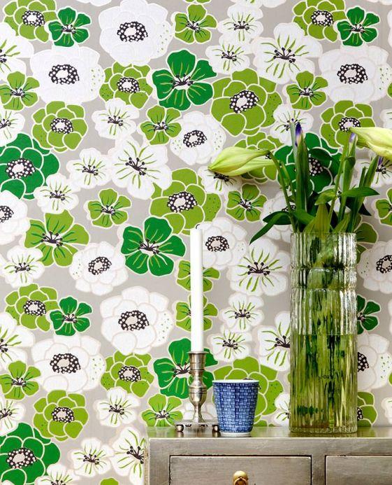 Archiv Papel de parede Ashbury verde Ver quarto