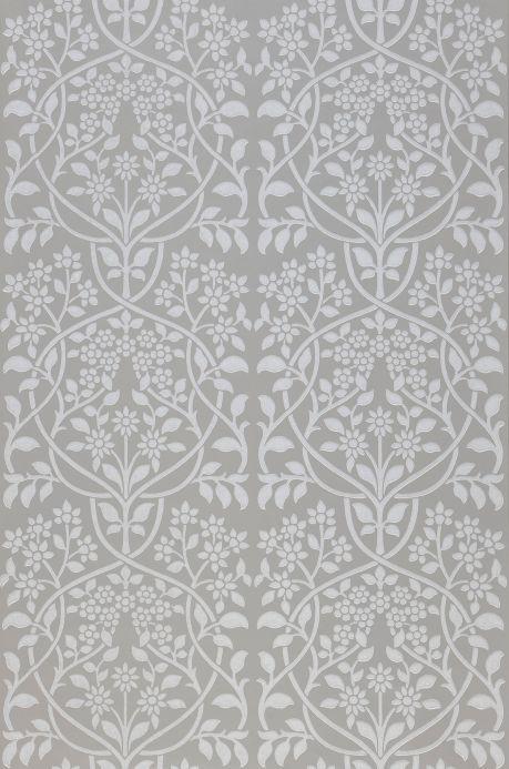 Art Nouveau Wallpaper Wallpaper Rosmery grey Roll Width