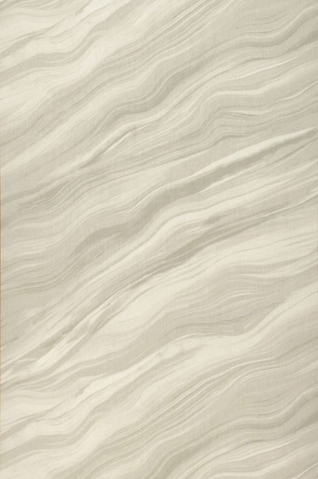 Wallpaper Elyria Matt Looks like textile Imitation marmor Cream Light beige grey