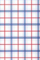 Papel de parede Nikopol Mate Xadrez Branco Azul Azul claro Vermelho