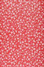 Papel pintado Felicia rojo