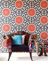 Papel de parede Aton vermelho