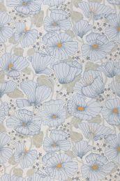 Papel de parede Ewa azul pálido