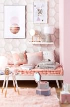 Wallpaper Hirolanit Matt Geometrical elements Hexagons Pale grey beige Light grey beige glitter Light pink glitter White grey