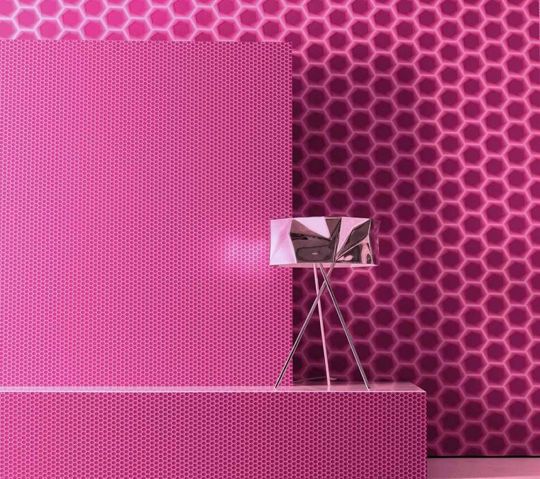 Archiv Wallpaper Bindi heather violet Room View